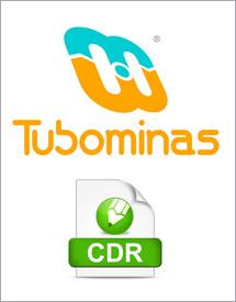 Logomarca Tubominas formato Corel Draw
