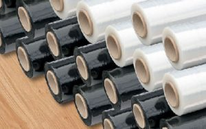 Paper tube and core for plastic packaging