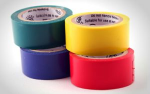 Paper tubes for self-adhesive tapes